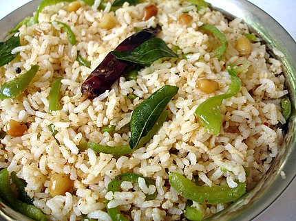 Capsicum Masala Flavored Rice