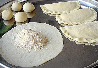Kajjikaayalu - Andhra sweet preparation process and ingredients