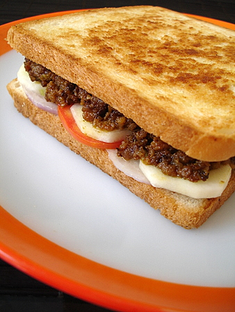 Mutton Kheema Sandwich