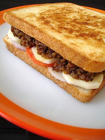 Mutton Kheema Sandwich