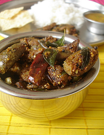 Vankaya vepudu eggplant stir fry 2 indian food recipes the forumfinder Images