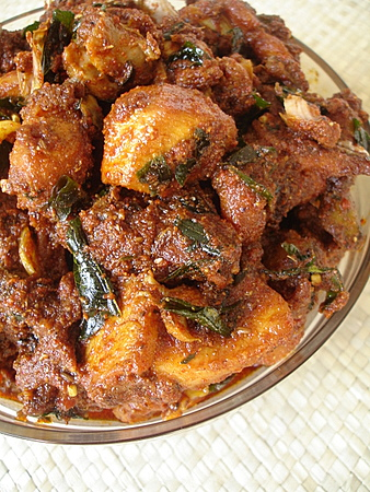 Andhra chicken pickle indian food recipes food and cooking blog the forumfinder Image collections