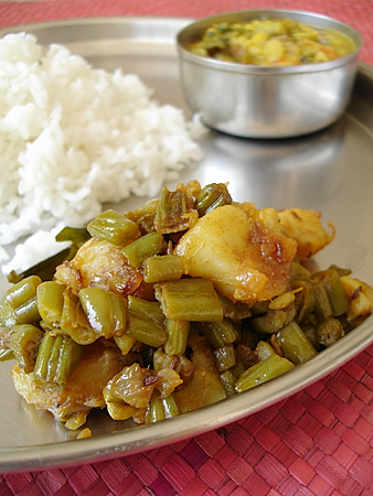 french-beans-potato-stir-fry