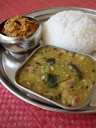 vankaya-pachi-pulusu-kandi-pachadi
