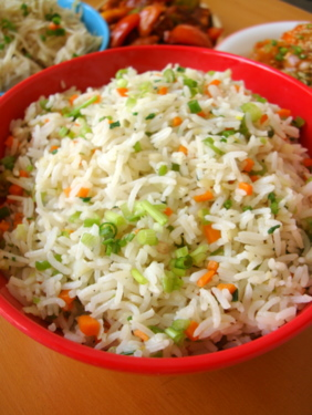Vegetable fried rice indian food recipes food and cooking blog indo chinese vegetable fried rice ccuart Choice Image