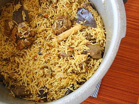 Pressure Cooker Mutton Biryani - Indian food recipes - Food