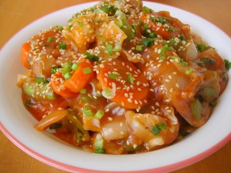 vegetables-ginger-garlic-sauce