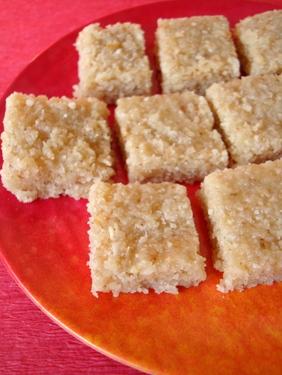 Kobbari Burfi ~ Coconut Sweet - Indian food recipes - Food and