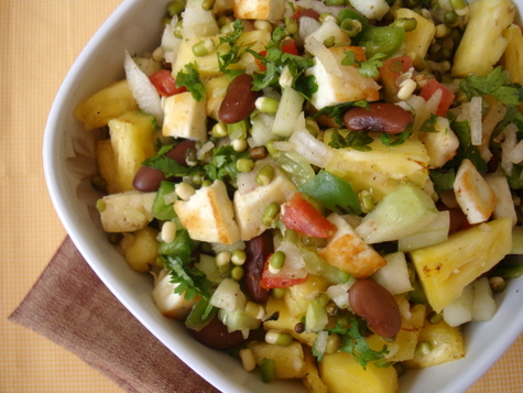 pineapple-paneer-salad