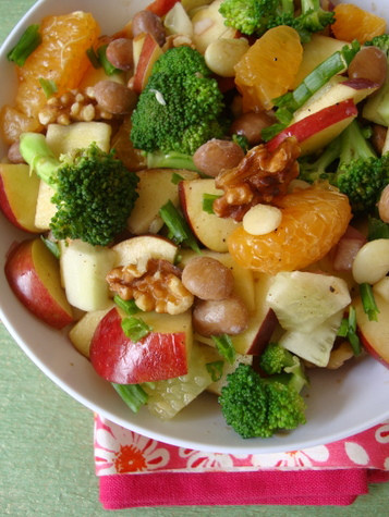 High raw food apple broccoli cucumber salad indian food apple broccoli walnut salad high raw food recipes forumfinder Image collections