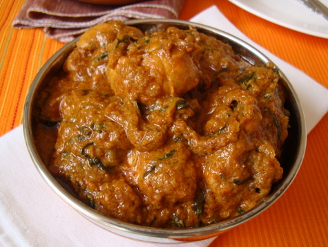 methi chicken - Methi Murgh ~ Chicken with Fenugreek leaves
