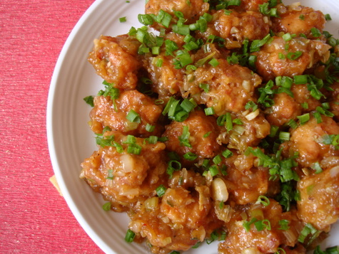 Indo chinese food chicken manchurian indian food recipes chicken manchurian forumfinder Image collections
