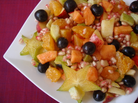 High raw food mixed fruit salad indian food recipes food and high raw food mixed fruit salad forumfinder Image collections