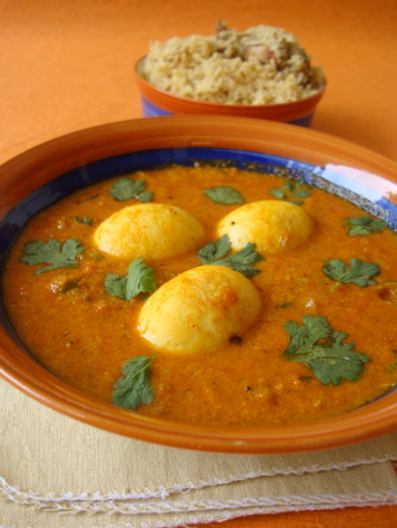 Egg masala curry indian food recipes food and cooking blog anda masala forumfinder Images