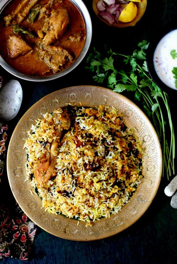 authentic, best recipe for biryani recipe using dum method