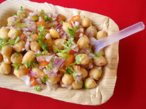 Indian Street food - Chana Chat