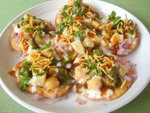 Papdi Chaat - Indian street food