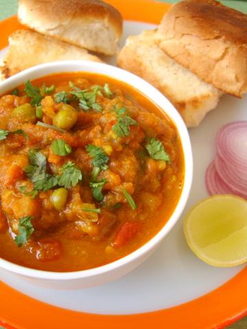 Indian Street Food - Pau Bhaaji