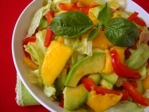Avocado Mango Salad Recipe