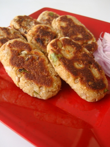 Quick whole wheat bread cutlets recipe aloo bread tikkis with forumfinder Choice Image