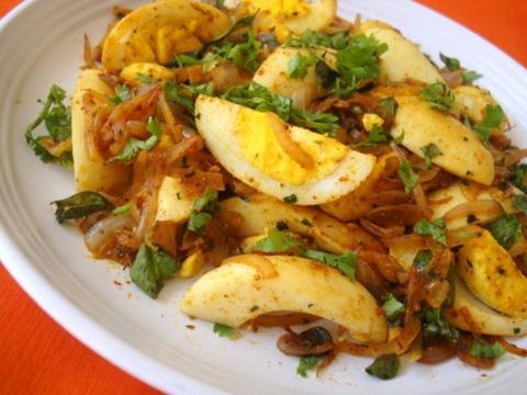 Quick boiled egg stir fry recipe anda fry kodi guddu vepudu quick boiled egg fry forumfinder Images
