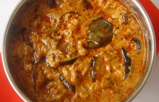 Vankaya Gasagasala Kura Eggplant Poppy Seeds Curry