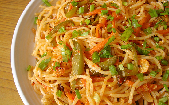 Indo chinese food schezwan vegetable noodles forumfinder Image collections