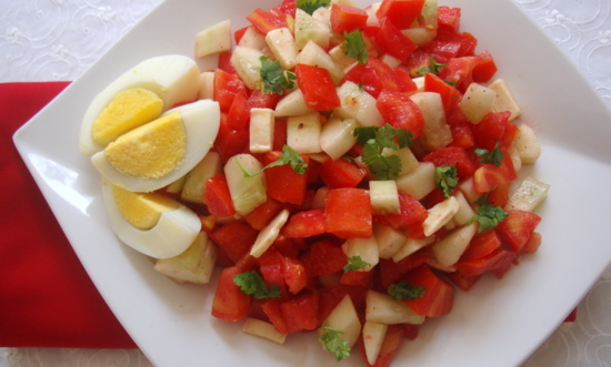 Raw food recipes archives indian food recipes food and cooking tomato cheese salad forumfinder Image collections