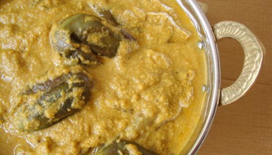 Vankaya Nuvvulu Masala-Brinjal Curry-Telugu Vantalu