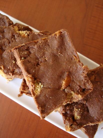 No Bake Chocolate Biscuit Cake Fridge Cake