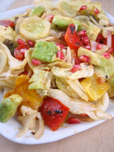 lettuce-salad-recipe-capsicum