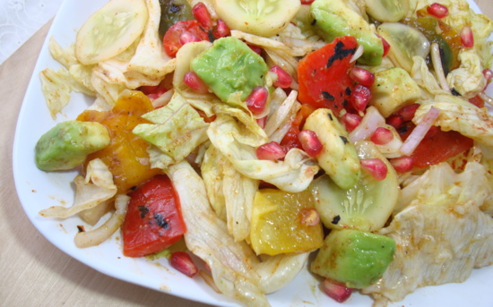 roasted-capsicum-salad