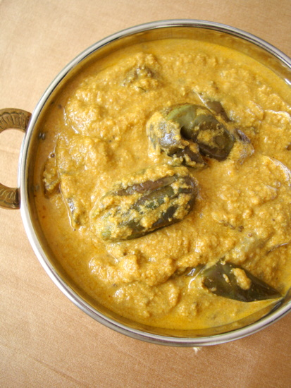 Vankaya Masala - Brinjal Curry