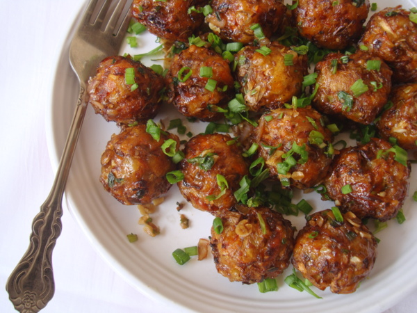 dry-vegetable-manchurian-recipe