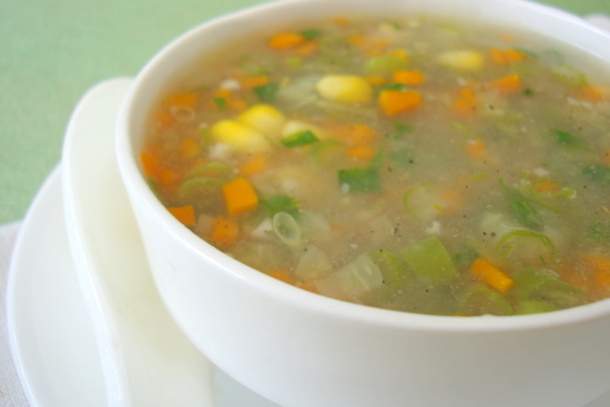 sweet-corn-veg-soup