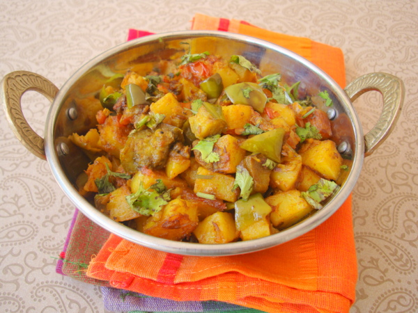 Indian fry recipes archives indian food recipes food and aloo baingan sabzi forumfinder Gallery