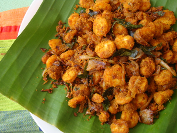 Indian non vegetarian recipes archives indian food recipes prawn fry forumfinder Images