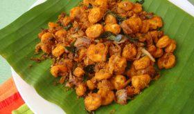 Prawn Fry Andhra Style Royalla Vepudu Shrimp Fry Recipe