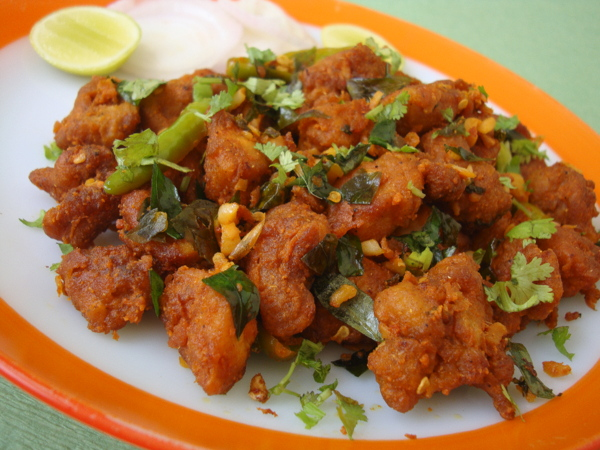 andhra style chicken 65