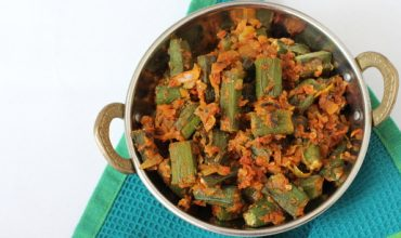 punjabi style okra masala recipe
