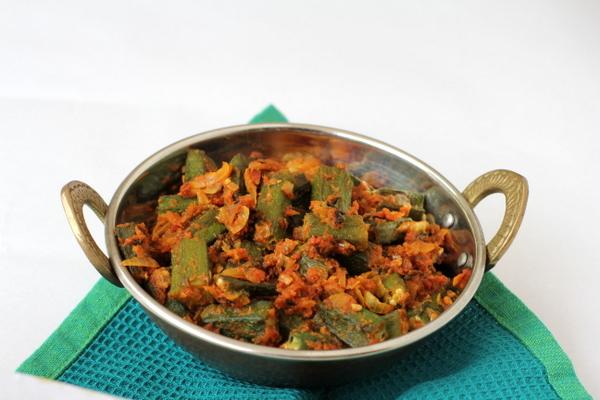 punjabi style bhindi masala recipe