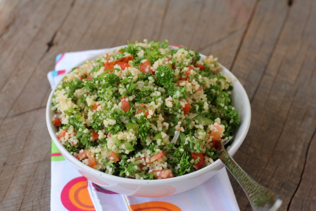 tabbouleh with couscous