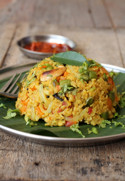 indian recipes with oats in it