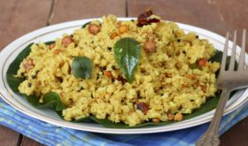 healthy indian breakfast dish