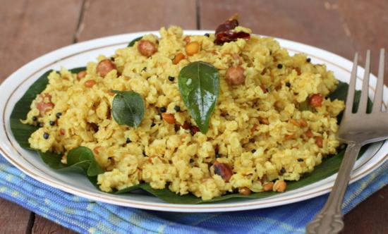 healthy indian breakfast dish