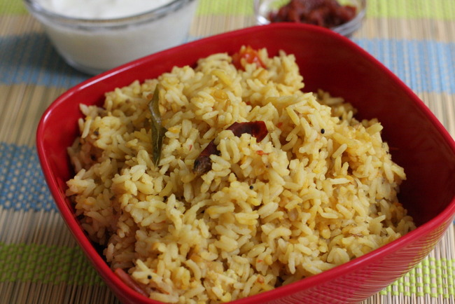 kongu lentil based rice dish