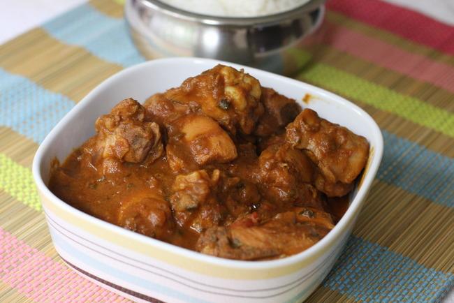 chicken gravy kongu style