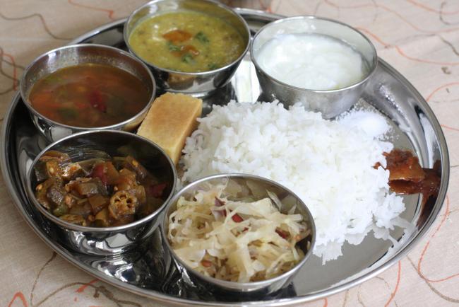 everyday kongu thali