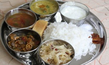 vegetarian everyday Kongu meal