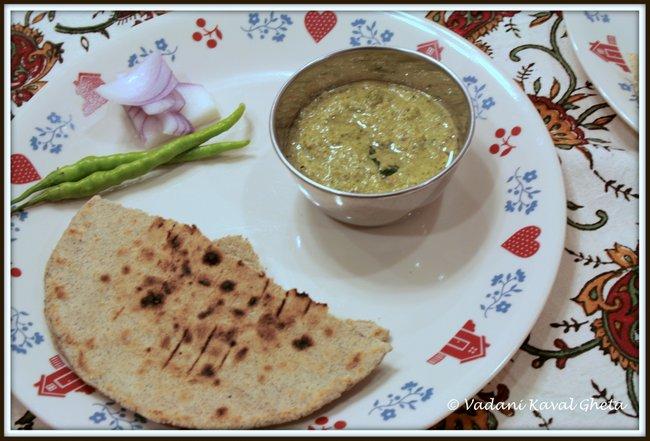 bhakari chutney